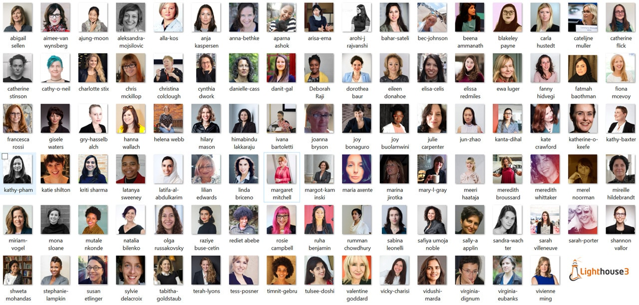 Top 100 Women in AI Ethics