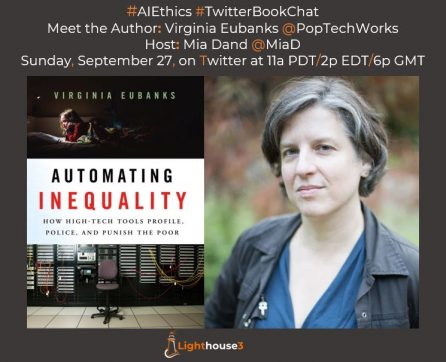 Twitter Book Chat with Author Virginia Eubanks